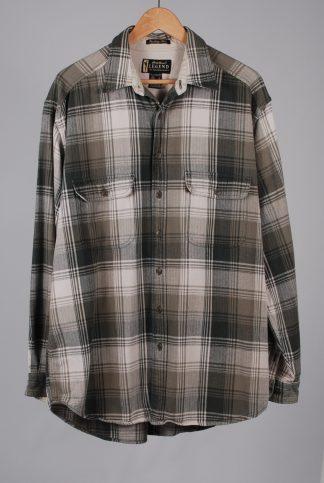 Eddie Bauer Bainbridge Plaid Shirt - Size L - Front