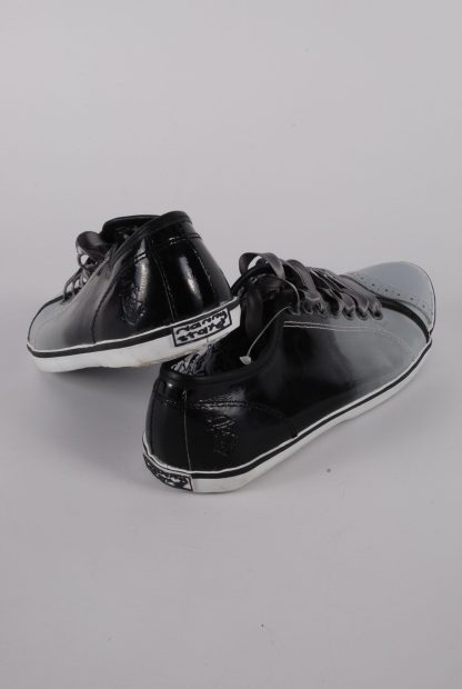 Nanny State Black & Grey Trainers - Size 4 - Back