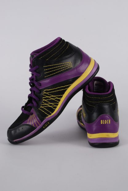 Bloch Hi Top Trainers - Size 7 - Side