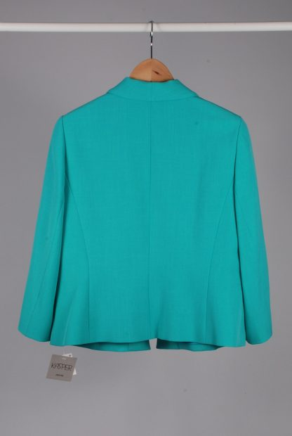 Kasper Green Blazer Jacket - Size 14 - Back