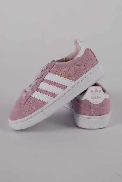 Adidas Ortholite Pink Trainers - Size 5 - Side