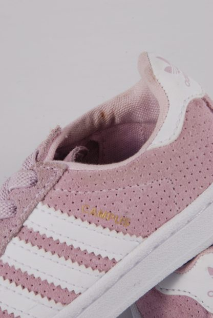 Adidas Ortholite Pink Trainers - Size 5 - Side Detail