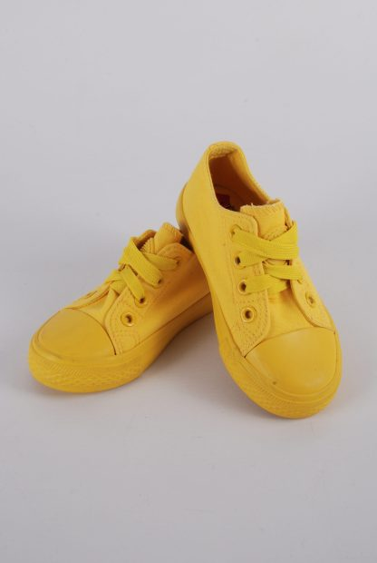 Original Marines Yellow Trainers - Size 7.5 - Front