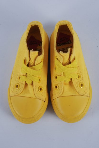 Original Marines Yellow Trainers - Size 7.5 - Top