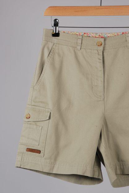 Lauren Ralph Lauren Green Cargo Shorts - Size 10 - Front Detail