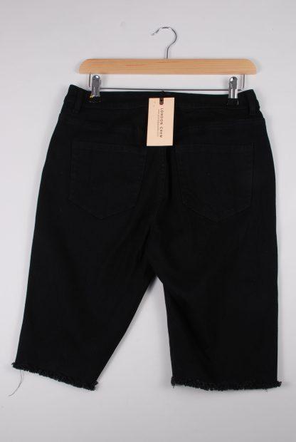 London Crew Black Shorts - Size S - Back
