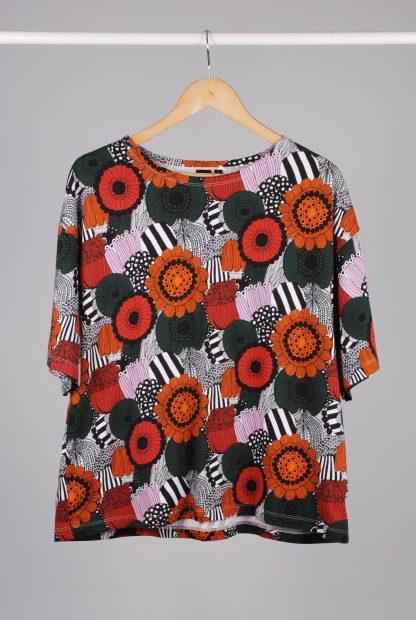 Uniqlo x Marimekko Floral Print Tee - Size L - Front