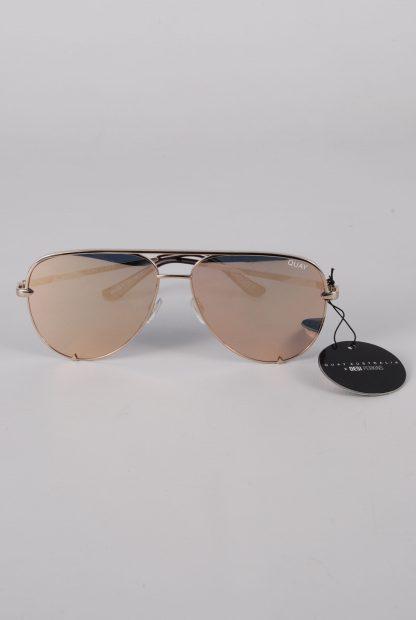 Quay Australia x Desi Perkins High Key Sunglasses - Front
