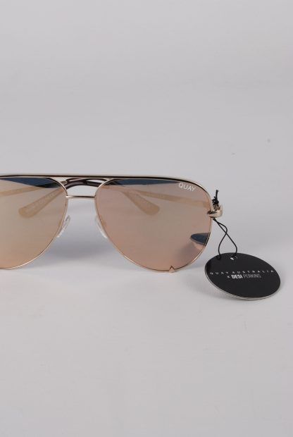 Quay Australia x Desi Perkins High Key Sunglasses - Front Detail