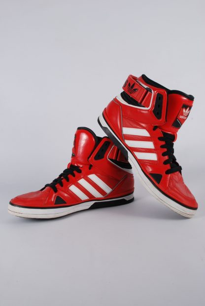 Adidas High Top Trainer Boots - Size 9 - Outside