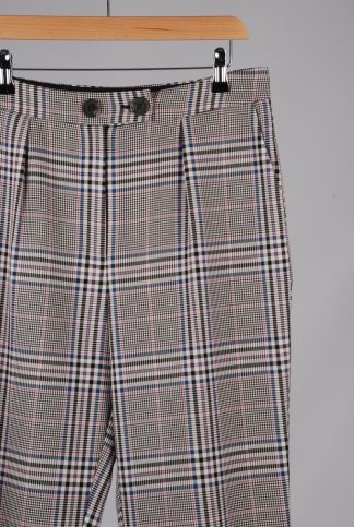 George Houndstooth Cropped Trousers - Size 12 - Front Detail