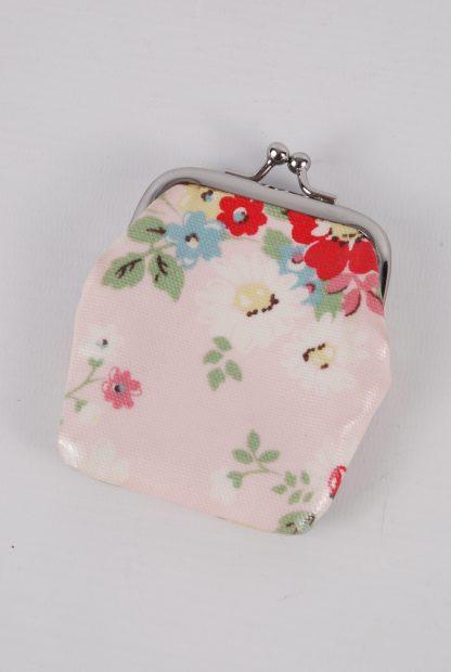 Cath Kidston Floral Mini Clasp Purse - Back
