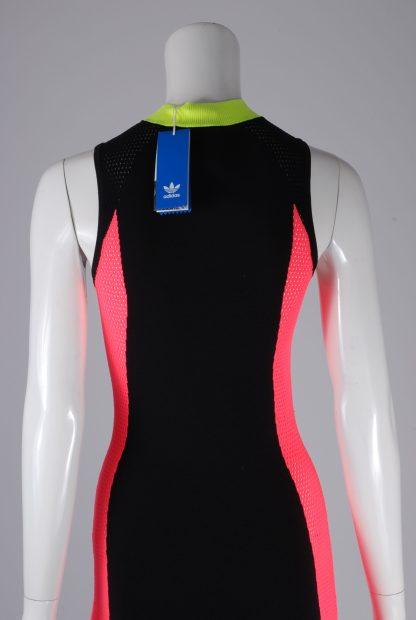 Adidas Mesh Panel Maxi Dress - Size 8 - Back Detail