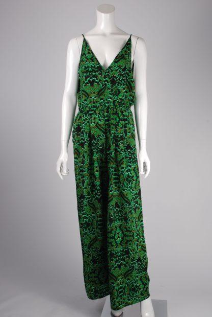 H&M Conscious Patterned Jumpsuit - Size 12 - Front