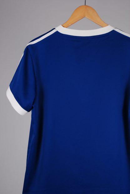 Adidas Blue Mini T-Shirt Dress - Size 12 - Back Detail