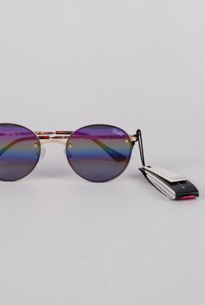 Quay Australia Farrah Rainbow Sunglasses - Front Detail
