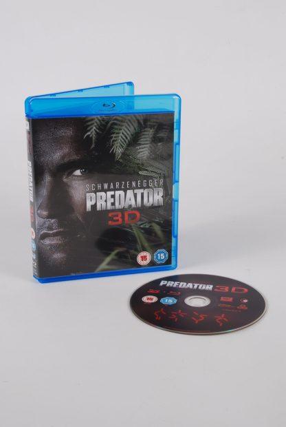 Predator 3D - Blu Ray - Disc