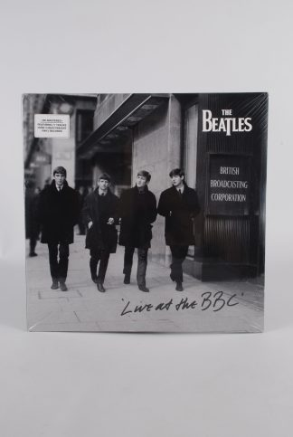 """The Beatles - Live At The BBC - 3x 12"""" Vinyl - Front"""