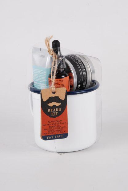 Fat Face Beard Kit - Back