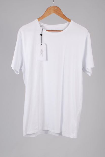 Selected Homme White Tee - Size L - Front