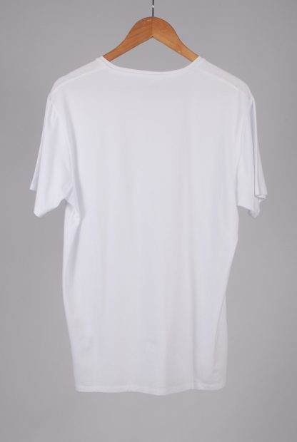 Selected Homme White Tee - Size L - Back