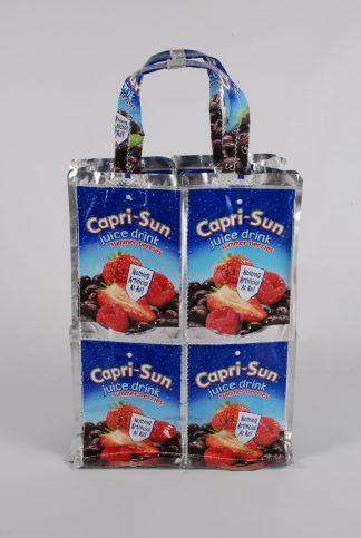 Capri Sun Recycled Juice Carton Mini Tote - Front
