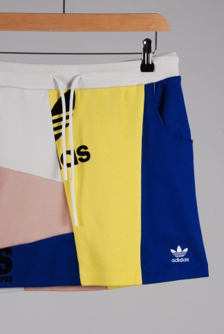 Adidas Panelled Jersey Mini Skirt - Size 10 - Front Detail
