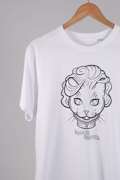 Purr-Aid 2021 T-Shirt - Emmewline Pankhurst - Front Detail