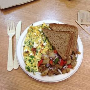 Breakfast courtesy of Fresh & CO.
