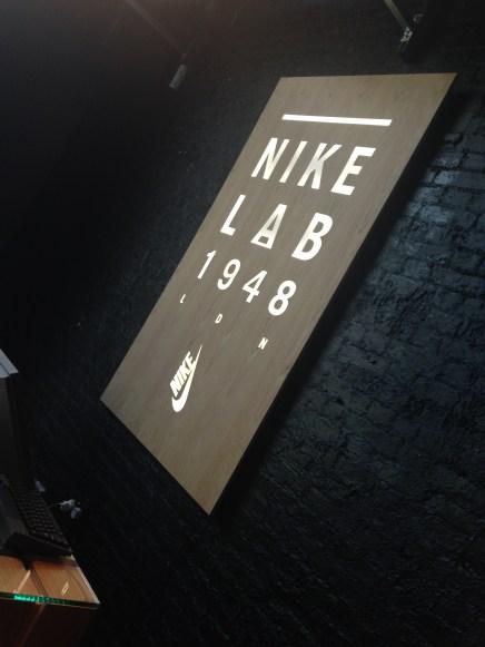 The newly refurbished Nike Lab 1948.