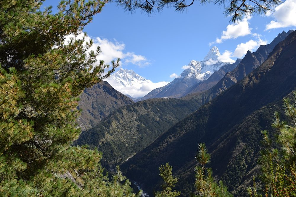 from Namche to Tengboche, Acclimatization day, Namche Bazaar, Everest Region, Mountains, Mount Everest Base Camp, EBC Trek, Himalayas, In the Mountains