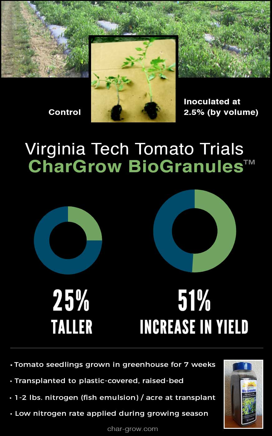 Tomato growing trials results at Virginia Tech poster