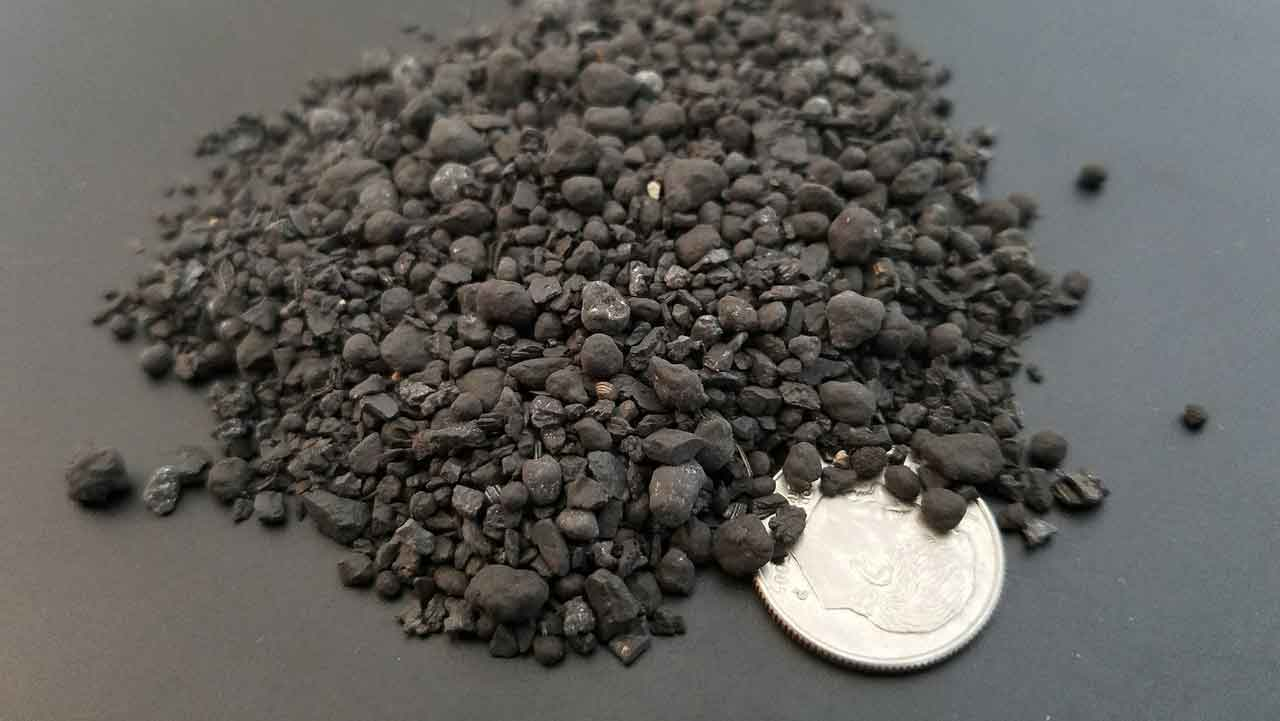 BioGranules is granulated inoculated biochar