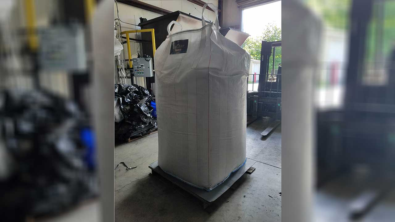 CharGrow Biochar Prime 2 Cubic Yard Super Sack on pallet