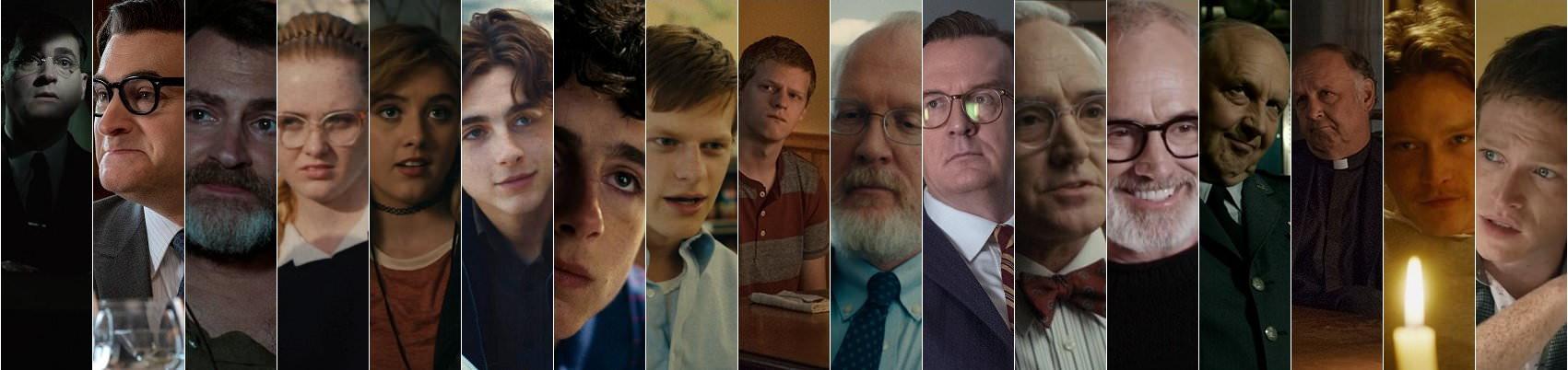 電影專題, 奧斯卡趣事:這8位演員演出2部以上2018年奧斯卡作品