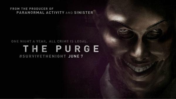 Movie, The Purge(美.法) / 國定殺戮日(台.港) / 人类清除计划(網), 電影海報, 美國, 橫版