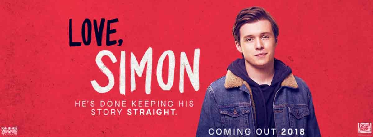 Movie, Love, Simon(美國) / 親愛的初戀(台) / 抱抱我的初戀(港) / 爱你,西蒙(網), 電影海報, 美國, 橫版