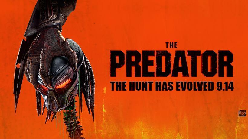 Movie, The Predator(美國, 2018) / 終極戰士:掠奪者(台) / 铁血战士(中) / 鐵血戰士:血獸進化(港), 電影海報, 美國, 橫版