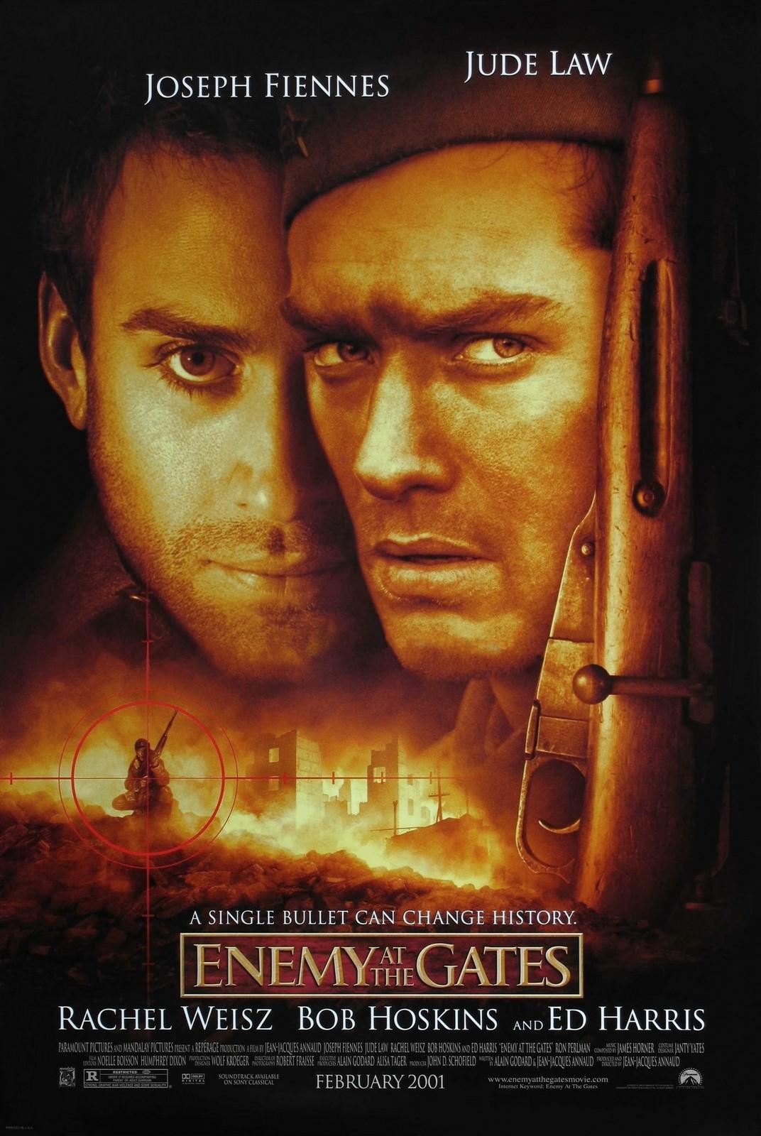 Movie, Enemy at the Gates(美國, 2001年) / 大敵當前(台灣) / 敵對邊緣(香港) / 决战中的较量(中國), 電影海報, 美國