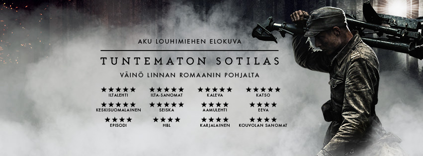 Movie, Tuntematon sotilas(芬蘭, 2017年) / 無名戰士(台灣) / The Unknown Soldier(英文), 電影海報, 芬蘭, 橫版