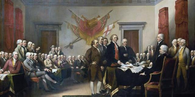 True or False? Signers of the Declaration