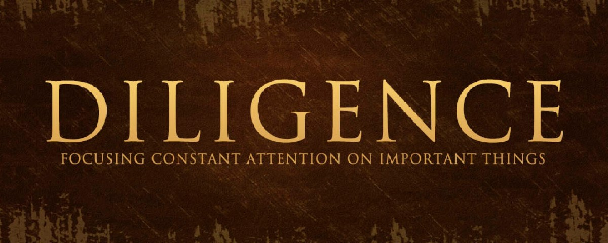 The Importance Of Staying Diligent