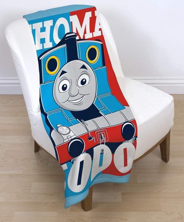 Thomas Tank Engine Adventure Panel Fleece Blanket Kids