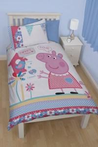 Peppa Pig Tweet Single Duvet Quilt Cover Bedding Set ...