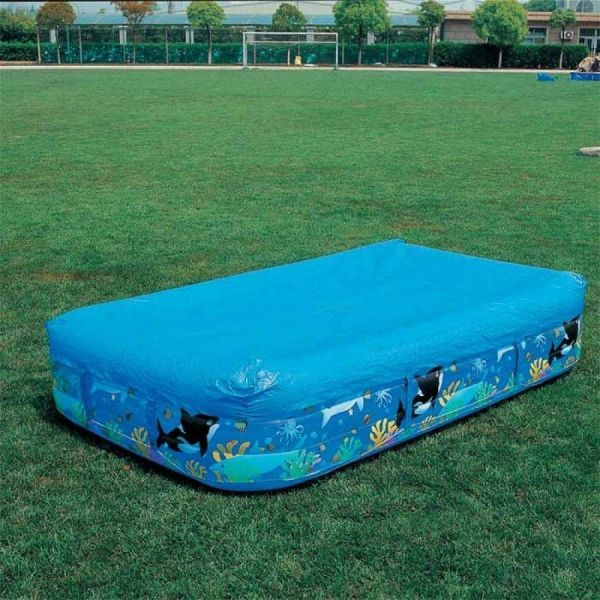 Bestway Flowclear Rectangular Family Swimming Paddling Pool Cover 10ft