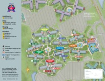 Disney All-Star Music Resort Map