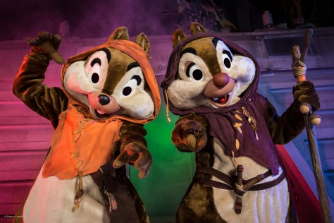 Ewok Chip N Dale at Star Wars Weekends