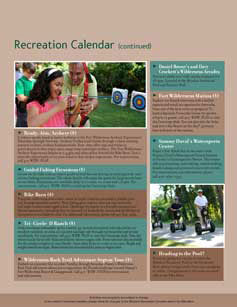 Fort Wilderness Resort Recreation Activities Guide