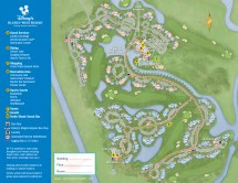 Disney Old Key West Resort Map