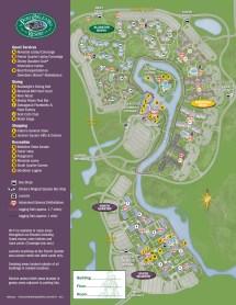 Port Orleans Riverside Resort Map